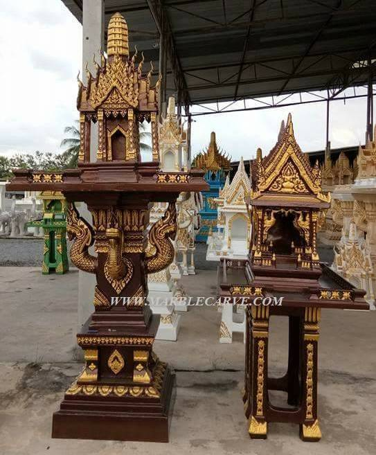 Thailand Spirit House From Artfiberglass