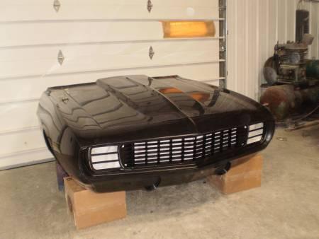 fiberglass 69 camaro front end