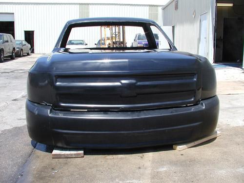 2007 Chevy Silverado Fiberglass truck Body
