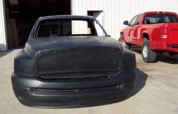 2006 Dodge Ram Fiberglass truck Body