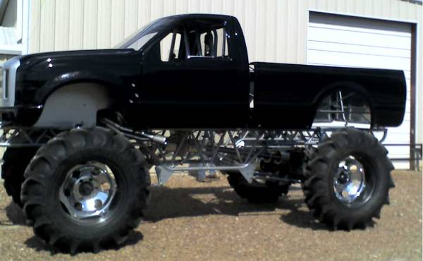 2008 Ford Super Duty Fiberglass truck Body