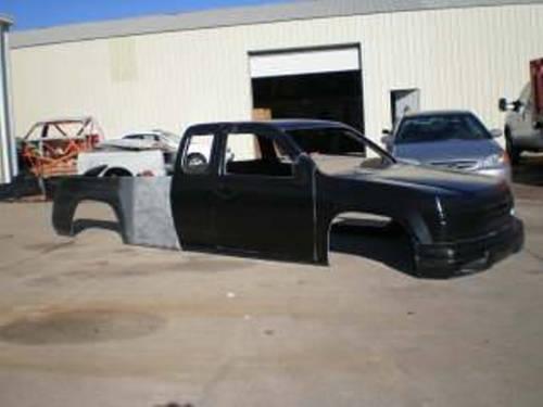 2004 Chevy Colorado Fiberglass truck Body