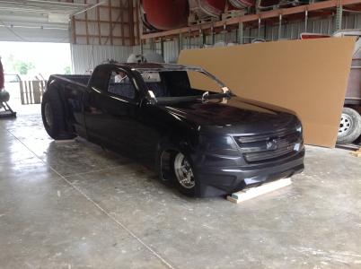 2015 Chevy Colorado Fiberglass truck Body