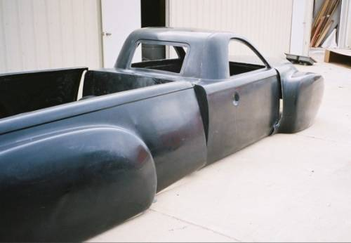 Chevy SSR Fiberglass truck Body