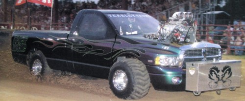 2009 Dodge Ram Fiberglass truck Body