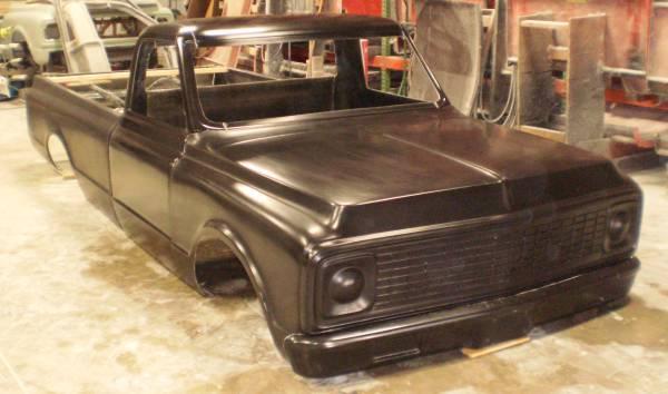 72 Chevrolet Chevy regular cab chevy Fiberglass truck Body