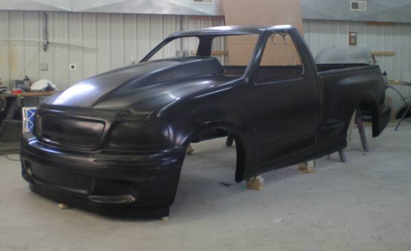 fiberglass ford lightning truck auto parts fiberglass hoods fenders