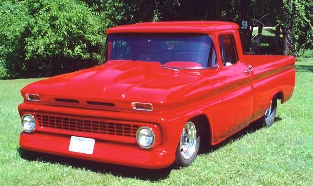 Fiberglass Chevrolet 1960 - 1966 Chevy regular cab Truck Auto parts