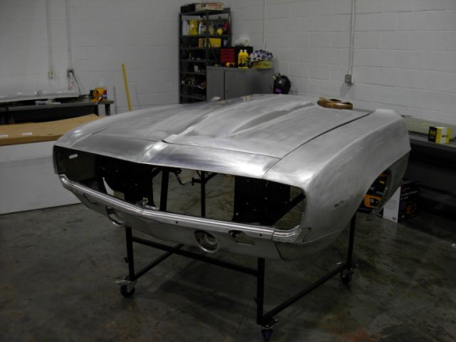 Click picture to see larger image,  69 Camaro Aluminum Body Panel Kit 2 inch Hood Body Panel Kit : Aluminum Part No: 199-3569-2AS ... Price $3,049.95 + S/H