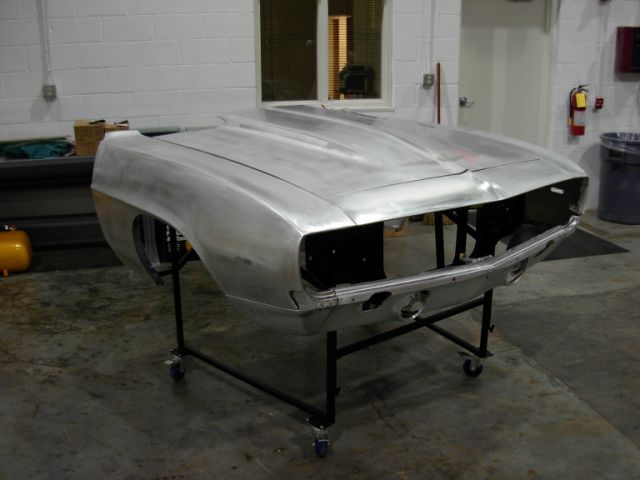 Click picture to see larger image, 1969 Chevrolet Camaro Aluminum Body Panel Kit 2 inch Hood Body Panel Kit : Aluminum Part No: 199-3569-2AS ... Price $3,049.95 + S/H