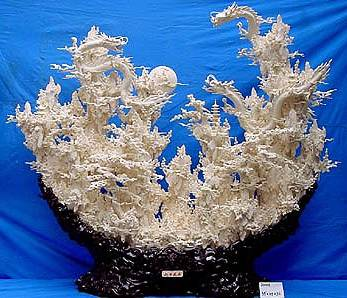 Artfiberglass Bone Carving Art