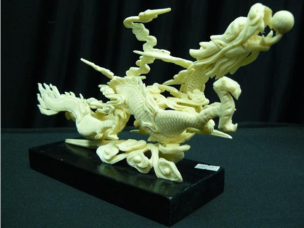 dragon carving dragon bone carving