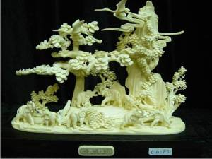 BONE ELEPHANTS art (0412F3)