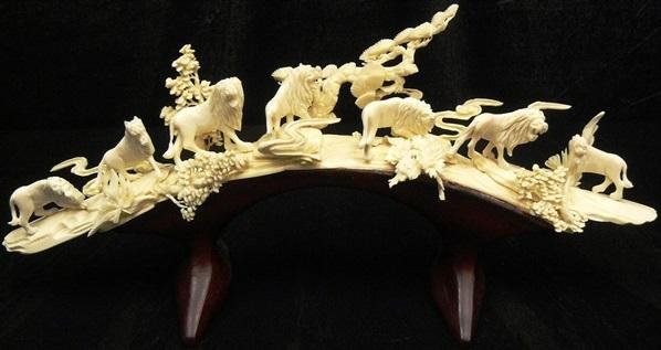 bone carving art