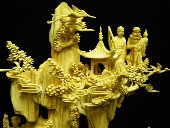 bone sculpture carving