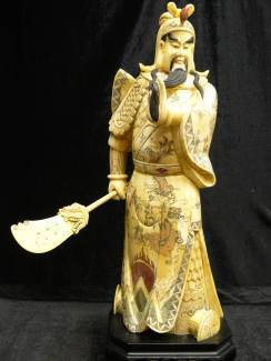 BONE CARVING GENERAL KWAN
