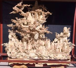 BONE ART 8 FAIRIES MOUNTAIN (02J)