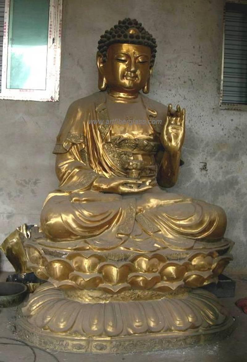 Buddha Statue in Brass