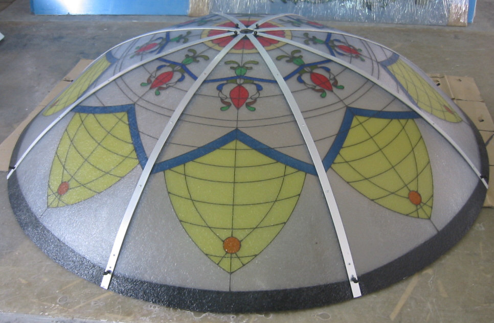 custom ceiling art dome designs ceiling domes with lighting