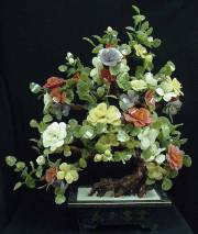 Jade FLowers Tree. 99-38 Price = $595.00 + S/H