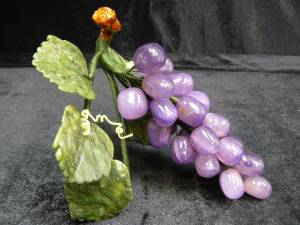 Jade Grapes, Price = $29.95 + S/H SIZE: HEIGHT: 6 in