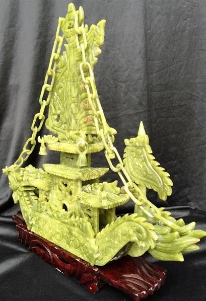 jade boat jade dragon boat