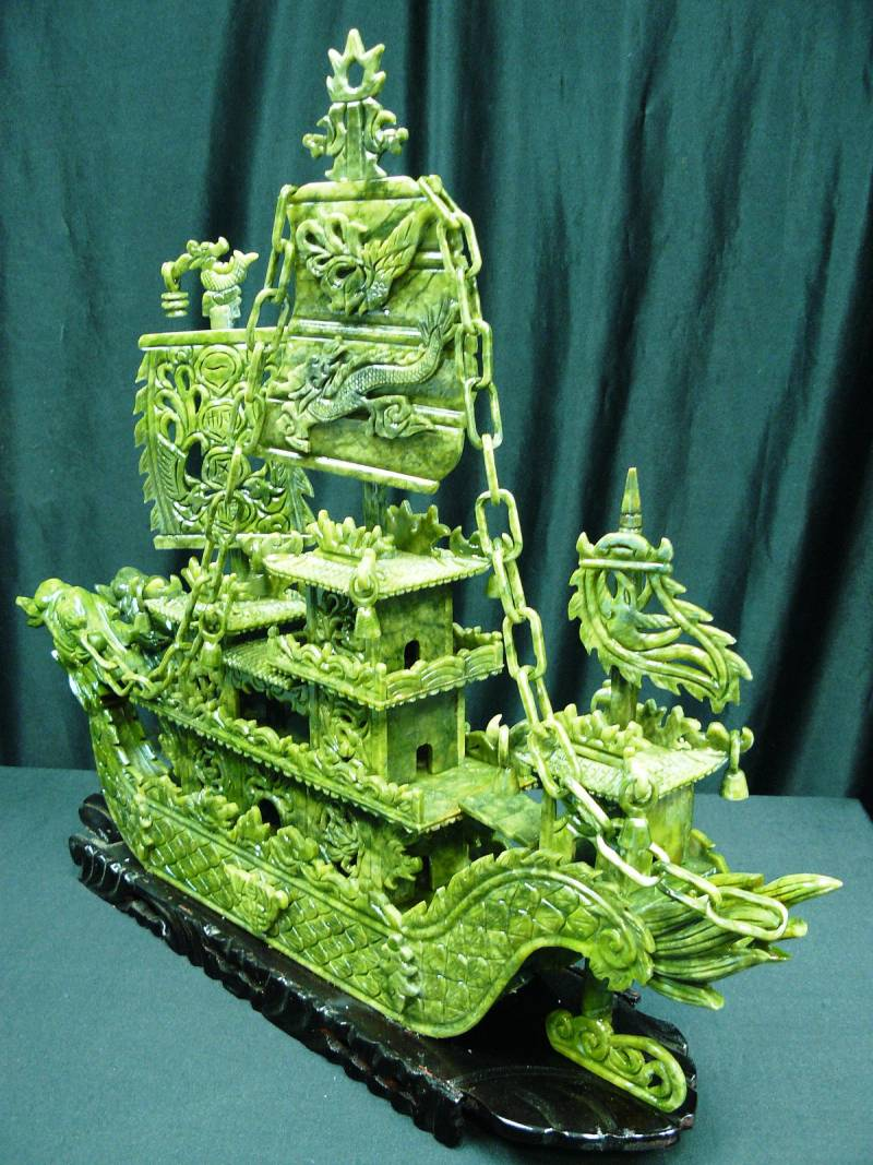 jade dragon boat