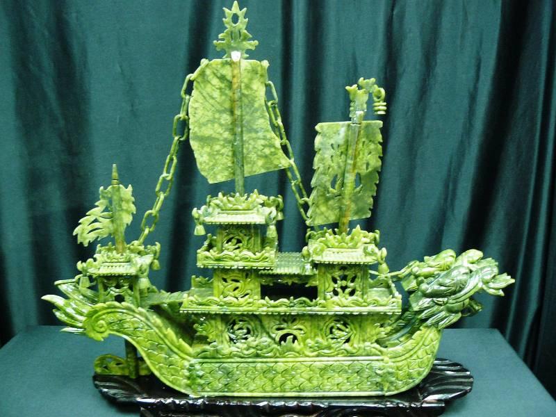 jade dragon boat