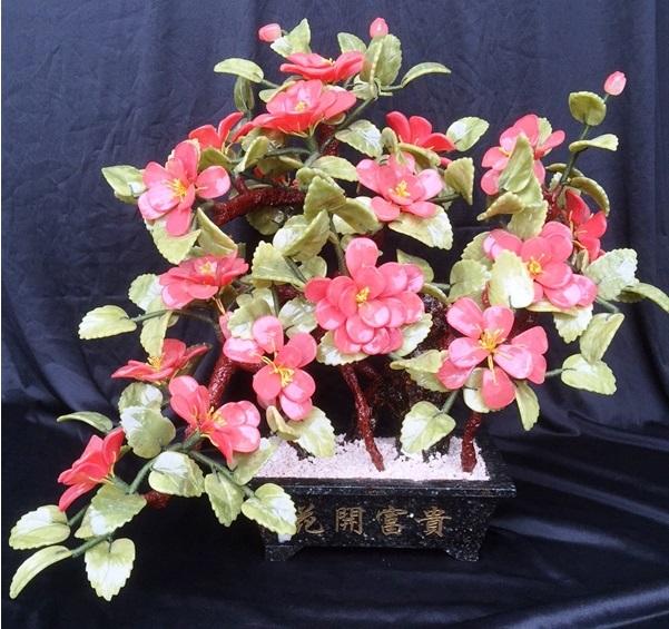 JADE Bonsai Camellia Flower F567