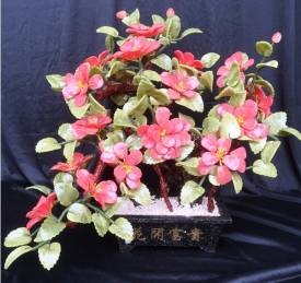 JADE LILY FLOWER (F567)  Price = $ 249.95 + S/H.