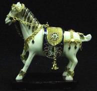 CLOISONNE HORSE
