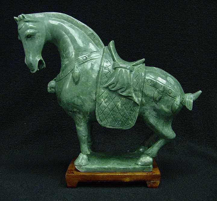 Jade Horse statue