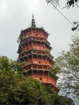 Hong San Miao Temple Pogoda is in Wuhan, Hubei, China