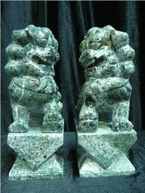 foodog jade Foo Dogs Statue Carving