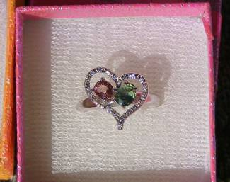 sapphire,  Price = $ 199.00 + S/H. SIZE: 6.5.