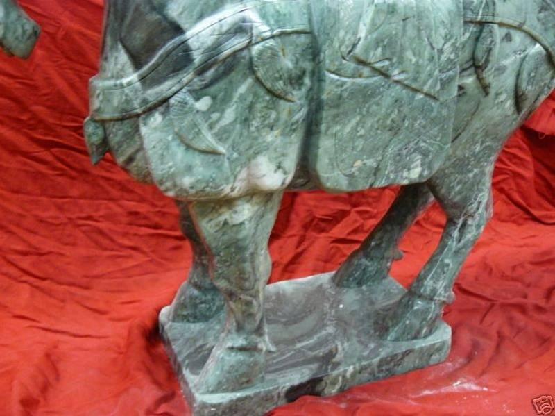jade horse carving, jade horses