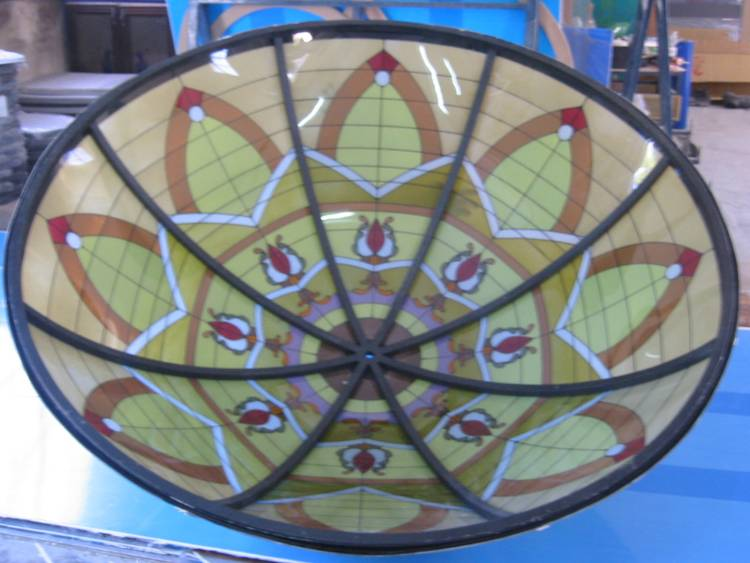 Custom Ceiling Art Dome Designs