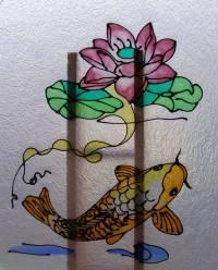 koi fish art