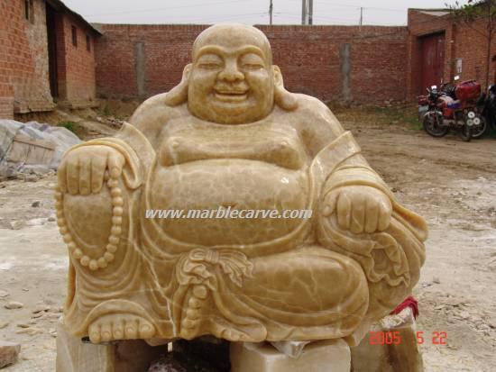 jade buddha carving yellow jade buddha