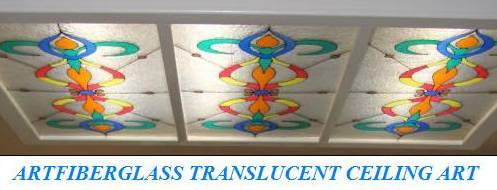 Art Fiberglass Translucent Fiberglass Polyglass Panel With