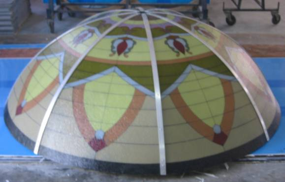 Ceiling Art Dome Designs