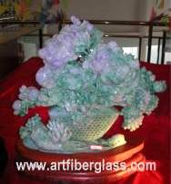 Chinese Jade Flowers and Bone Carvings