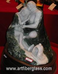 jade carving lovers in jade