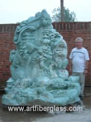 Jade Carving Sculpture photo image