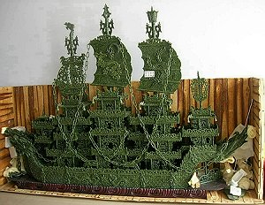 JADE DRAGON BOAT CARVING STATUE CARVINGS AVAILABLE! CLICK PHOTO FOR MORE INFO