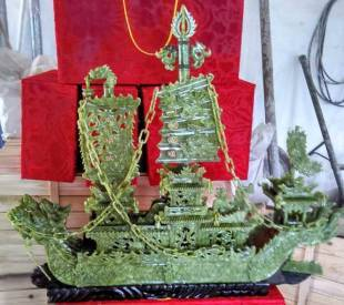 JADE DRAGON BOAT BJ100