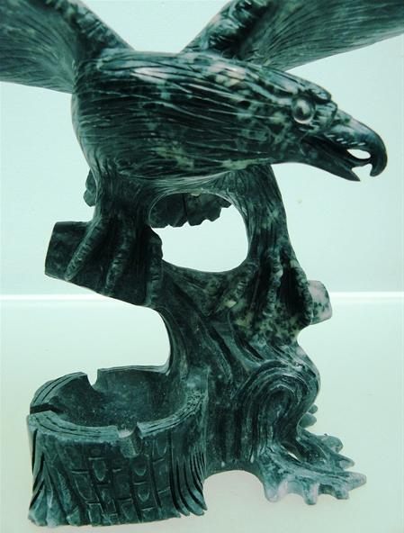 jade eagle Statue