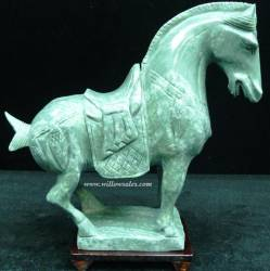 Jade Horse LH8A Price $99.99 + S/H size approx 10 in X 3 in X 9 inch