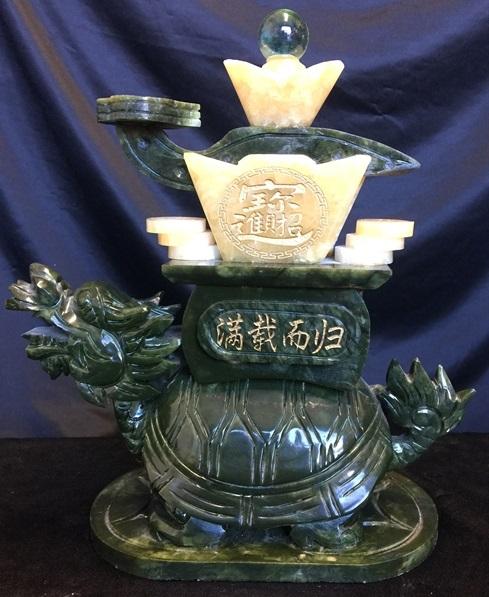 dragon turtle statue
