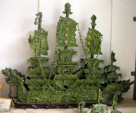 jade dragon ship